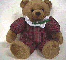 brown sitting teddy bear