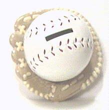 ball and glove bank
